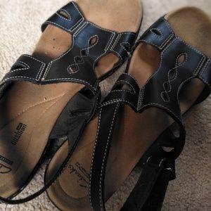 Size 12 Clark's sandals